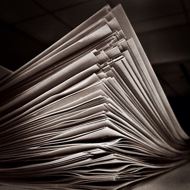 Stack Papers Royalty Free Flickr